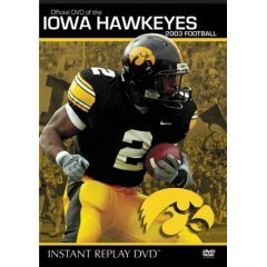 Iowa Hawkeyes 2003 Football Instant Replay - NEW DVD FACTORY SEALED