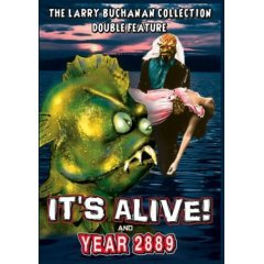 It's Alive - Year 2889 - NEW DVD FACTORY SEALED