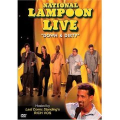 National Lampoon Live Down & Dirty - NEW DVD FACTORY SEALED