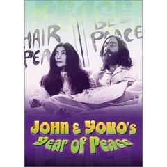 John & Yoko's Year of Peace - NEW DVD FACTORY SEALED