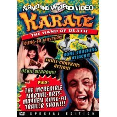 Karate The Hand of Death - NEW DVD FACTORY SEALED