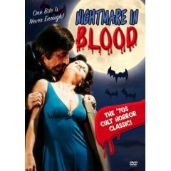 Nightmare in Blood (New DVD Widescreen)