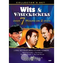 Wits & Wise Crackers Classic Comedy - NEW DVD FACTORY SEALED