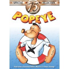 Popeye 75th Anniversary Collection - NEW DVD BOX SET FACTORY SEALED