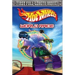 Hot Wheels World Race - NEW DVD FACTORY SEALED