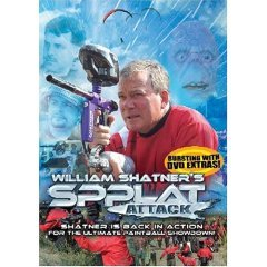 William Shatner's Spplat Attack - NEW DVD FACTORY SEALED