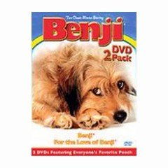 Benji - For The Love of Benji - Two Pack - NEW DVD BOX SET FACTORY SEALED