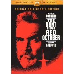 Hunt for Red October - NEW DVD FACTORY SEALED