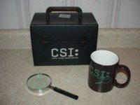 CSI CRIME SCENE INVESTIGATION - Limited Edition Collector's Set (FREE Shipping)