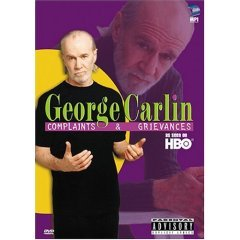 George Carlin - Complaints and Grievances - NEW DVD FACTORY SEALED
