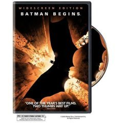 Batman Begins - NEW DVD FACTORY SEALED