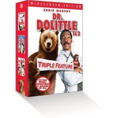 Doctor Dolittle Giftset - NEW DVD BOX SET FACTORY SEALED