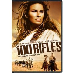 100 Rifles - NEW DVD FACTORY SEALED