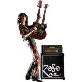 """Jimmy Page 7"""" Action Figure by NECA"""