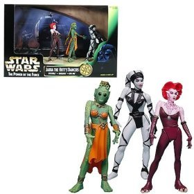 Star Wars Jabba The Hutt's Dancers Action Figures