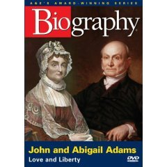 Biography John and Abigail Adams - NEW DVD FACTORY SEALED