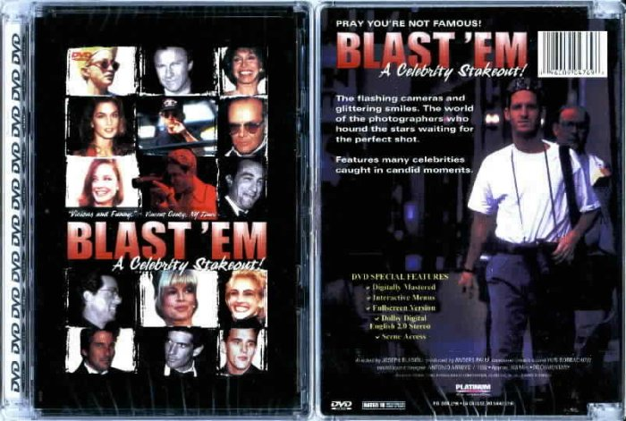 Blast 'em A Celebrity Stakeout - NEW DVD FACTORY SEALED