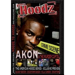 Hoodz - Akon and The Murder Capital (New DVD Factory Sealed)