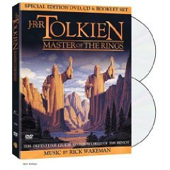 J.R.R. Tolkien: Master Of The Rings (New DVD Factory Sealed)