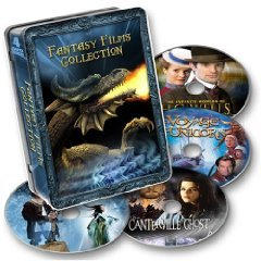 Fantasy Films Collection - 4 Movies in Collectable Tin (New DVD Box Set)