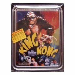 The King Kong Collection (New DVD 4-Disc Set in Collectable Tin)
