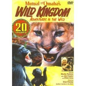 Mutual of Omaha's Wild Kingdom 20 Episodes - (New DVD Box Set)