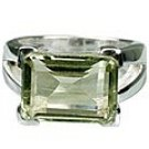 M. Tristan Opulence Ring Green Amethyst