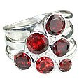 MTristaN Cocktail Ring Garnet