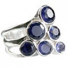 MTristaN Cocktail Ring Water Sapphire
