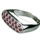 M. Tristan Bar Ring Ruby