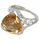 M. Tristan heart ring Citrine