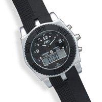 Men's Digital Fashion Watch with Black Band