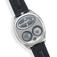 Men's Fashion Watch with Leather Band