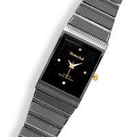 Men's Charcoal Tone Fashion Watch