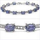 M. Tristan Princess Link Bracelet Tanzanite