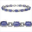 M. Tristan Royal Link Bracelet Tanzanite