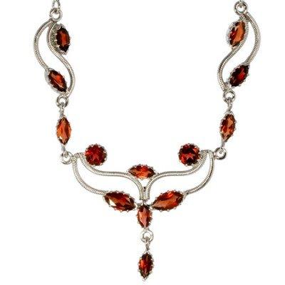 M. Tristan Garnet Signature Necklace