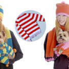 SM- Customizable Dog & Owner Sweater/ Scarf & Hat Sets