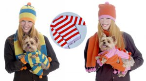 MED-Customizable Dog & Owner Sweater/ Scarf & Hat Sets