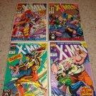 Marvel Uncanny X-men 278-281 NM X-Factor, New Line-up