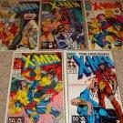 Marvel Uncanny X-men 273-277 New Mutants X-Factor Xover