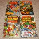 Marvel Super-Heroes 27-28, 30-31 Iron Man Daredevil rep