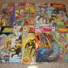 Valiant Comics Magnus Robot Fighter 31-40 NM