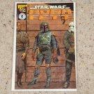 Dark Horse Wizard Star Wars Boba Fett 1/2 Certificate