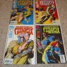 Marvel Adventures of Cyclops and Phoenix Mini 1-4 NM