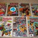 Marvel Fantastic Four 346-350 352 358 Ann 23 Spider-man