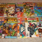 Marvel Team-Up 101-110 Two rare non Spider-man issues