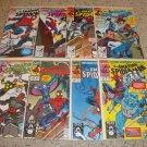 Marvel Amazing Spider-man 351-358 Punisher New Warriors