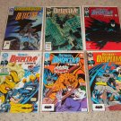 DC Detective Comics Set 622-627 NM 600th or 601st app ?