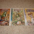 DC Vertigo Books of Faerie Mini Series 1-3 NM